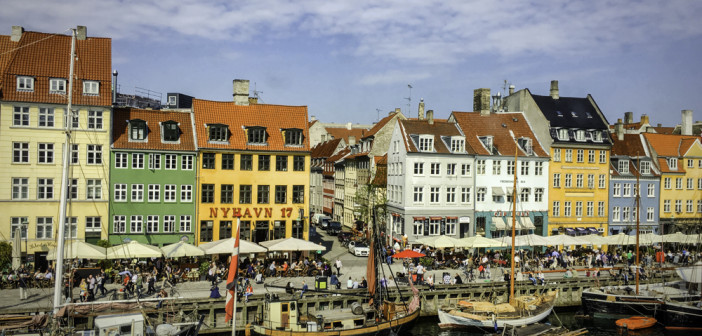 Copenhagen, Nyhaven, old harbor