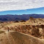 Zabriskie Point, Death Valley National Park, nature's pallette