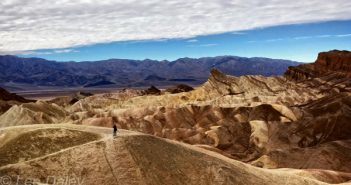 Zabriskie Point, Death Valley National Park, nature's pallette