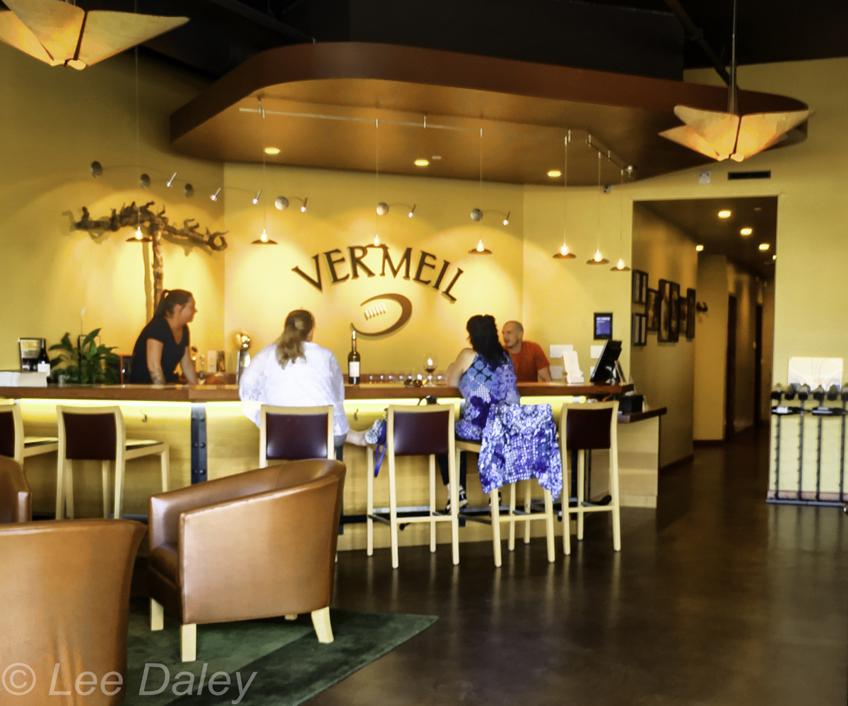 Downtown Napa tasting room