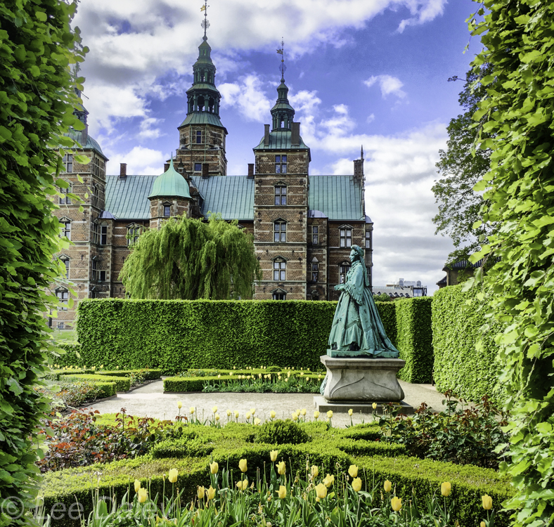 King's Garden at Rosenborg Castle, Copenhagen