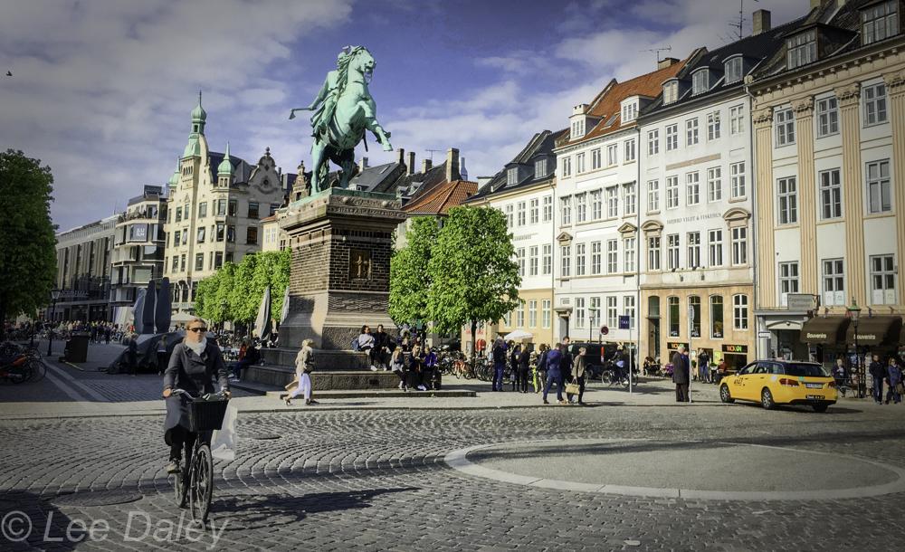 Copenhagen plaza.