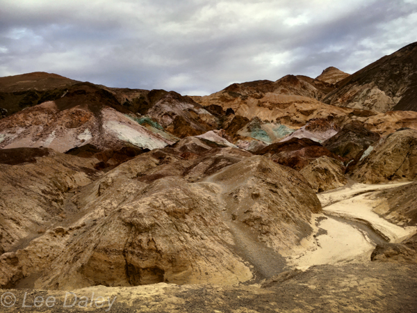Death Valley, Artists Palette, drive the nine-mile loop trail to view this incredible display of nature.