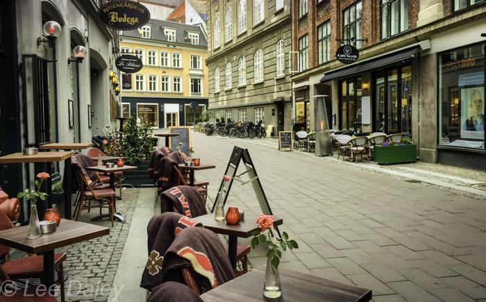 Copenhagen in The Danish Girl's Footsteops, Sidewalk cafes, Copenhagen, Denmark city sights