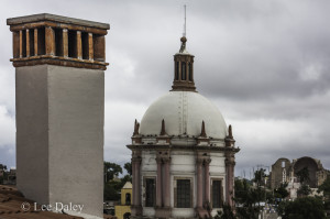 Iglesia de San Pedro Church, Pozos, Mx.