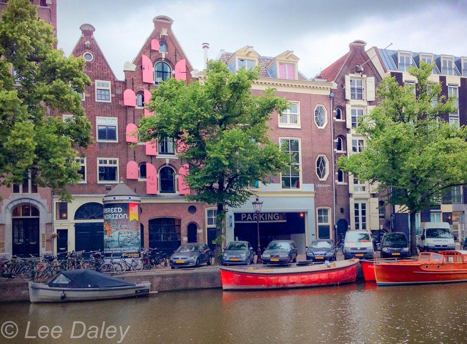 Amsterdam: Bikes, bridges and bread. Amsterdam Canal Houses