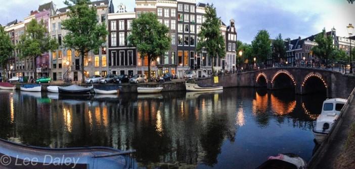 Amsterdam: Bikes, bridges and bread,, Amsterdam canal view