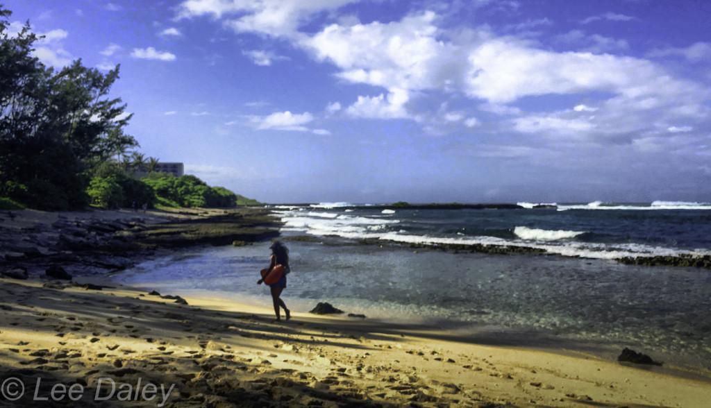 Five Mile Beach, Oahu's North Shore