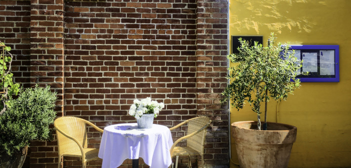 Downtown Napa: Sipping and Savoring., Angele Restaurant, rustic French fare in an old boathouse