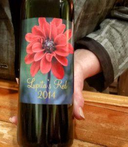 Lake County: A Sweet Spot Getaway north of San Francisco, Lupita's Red, 2014, downtown Upper Lake, CA wine tasting, organic wines, award winning wines.