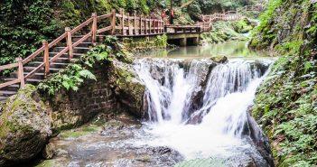 Black Mountain Valley, China's Enchanted Oasis, waterfall walk, canyon trail, Chongqing day trip