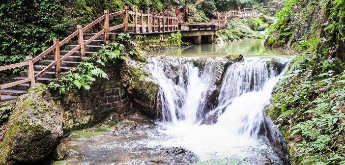 Black Mountain Valley, China's Enchanted Oasis, waterfall walk, canyon trail, Chongqing day trip