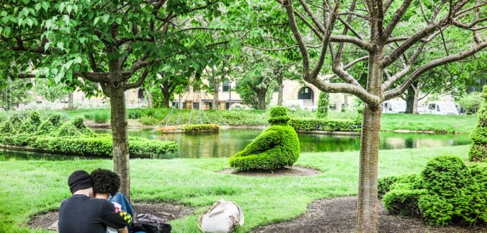 A Park that is a Painting: Topiary Park in Downtown Columbus