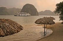 karsts-steamboat-beach-Ha Long Bay