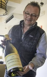 Chardonnay and Croquet at Sonoma Cutrer Winery, Sonoma Cutrer 1994 Founders Reserve.Winemaking Director Mick Shroeter