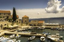 Brac Island. Croatia: Sun, Sea and Stone,, Croatia Dalmation Coast, In Croatia:, Being on Brac, Island of Stone and Sea, Bol Boat Harbor