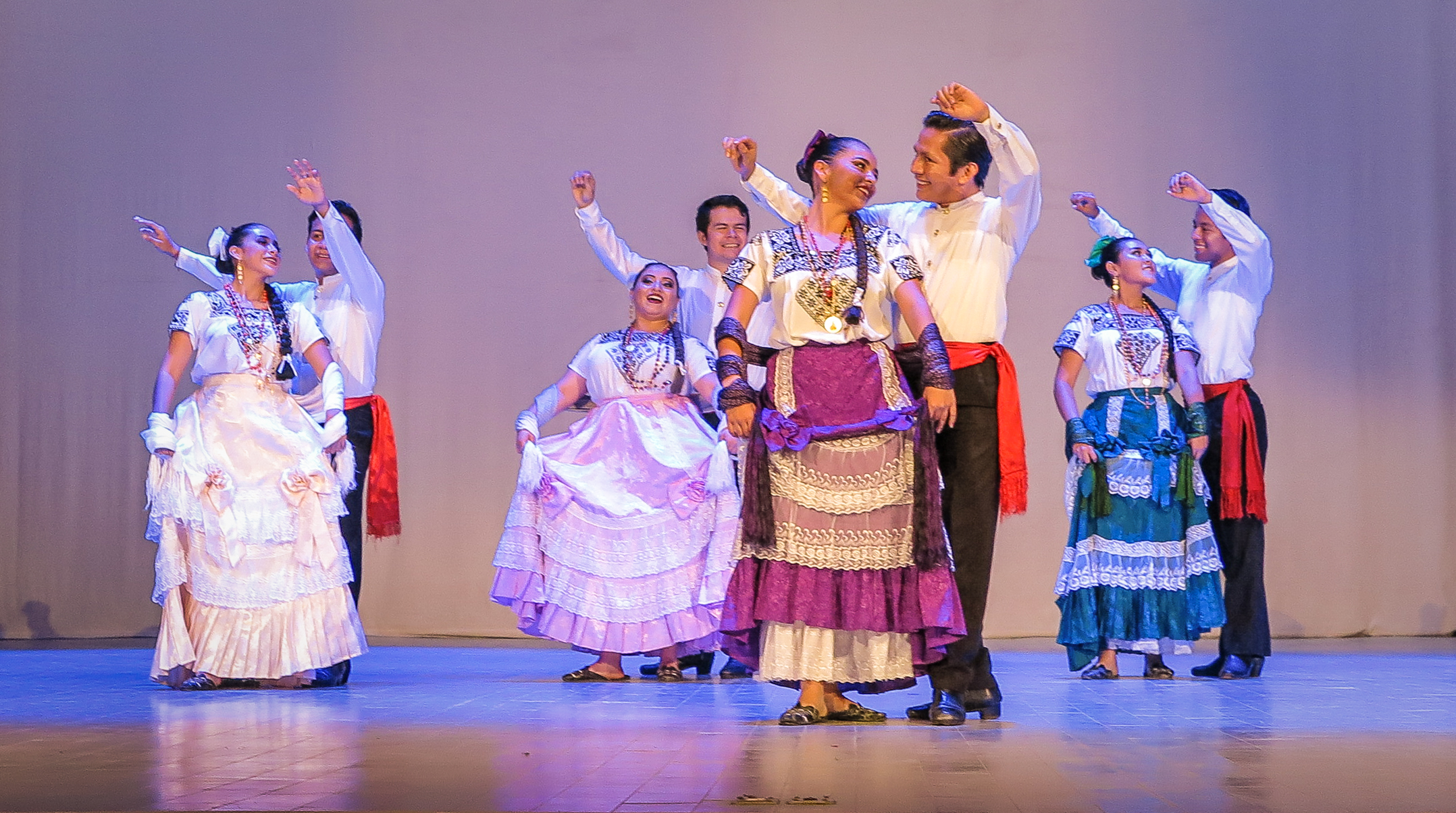 Campeche's magnificent Flamenco dancers,