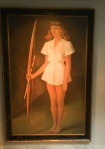 San Miguel de Allende at Hotel Matilda, Matilda portrait by Diego Rivera