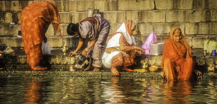Benaras, On the Banks of the Ganges, sacred river, Ganges River, Ghats, Assi Ghat, India, Varanasi, India