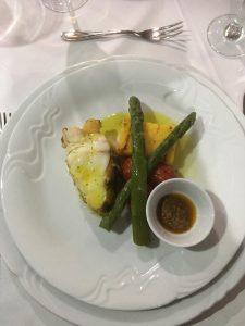On Brac Island in Croatia, Katarina Line Futura cuisine, Croatia, Brac Island, Dalmation Coast, Adriatic Sea, Dinner at Sea