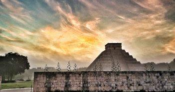 El Castillo. Chichen Itza,Mexico's Yucatan: Deep into Mayaland with Victory Cruise Line